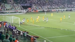 Ele voltou aos gramados do Allianz Parque, depois de mais de dois meses sem jogar, e o que é  melhor, fazendo gol.