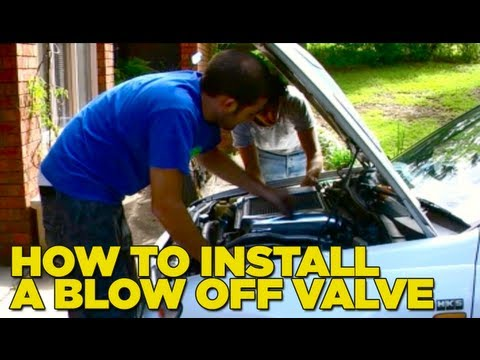 how to fit hks dump valve