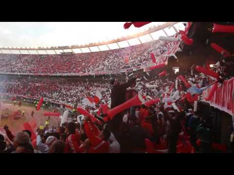 Video - Recibimiento River Plate Campeon 2014 - Los Borrachos del Tablón - River Plate - Argentina