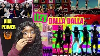 Video ITZY - DALLA DALLA MV Reaction MP3, 3GP, MP4, WEBM, AVI, FLV Februari 2019