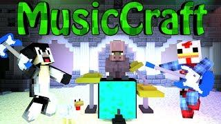 Minecraft   MUSIC MOD Showcase! (MusicCraft, Instruments, Rock Band)