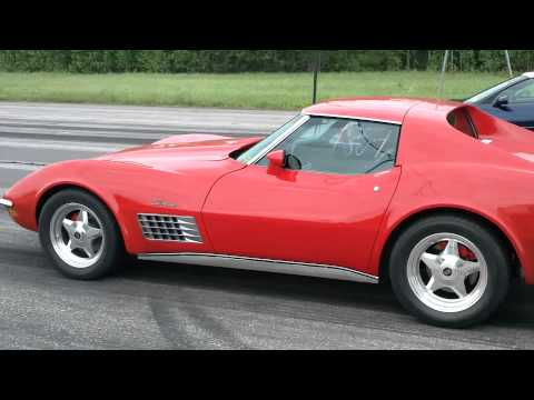 450hp corvette c3 drag race