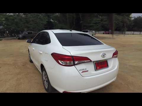 Rent a car NEW Toyota Yaris Ativ (18-19) Video