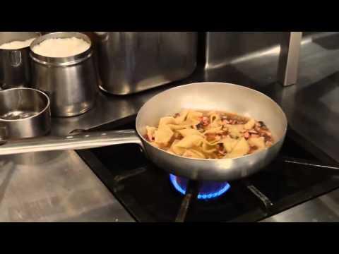 Fettuccine al polpo e fagioli