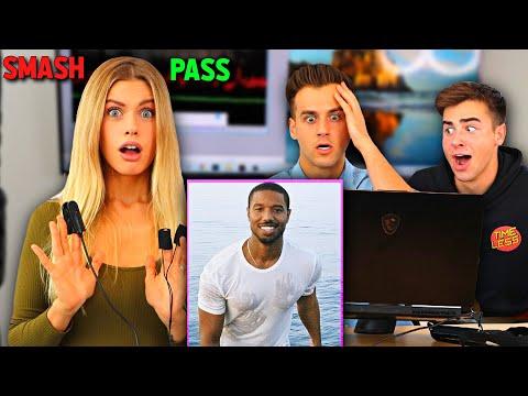Smash Or Pass Lie Detector Test On My Girlfriend! (IT GOT CRAZY)
