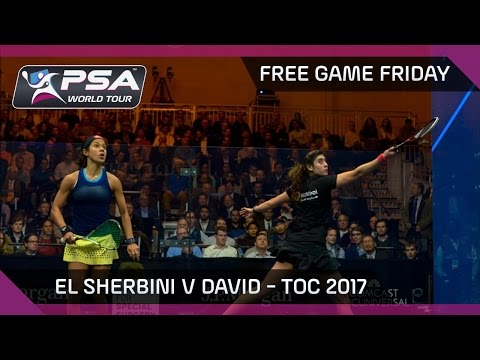Squash: Free Game Friday - El Sherbini v David - Tournament of Champions 2017