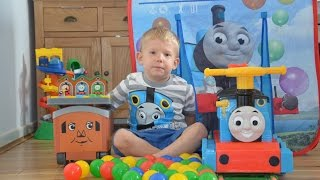 Thomas And Friends Ride On Thomas Fire Engine's Pop up Thomas Toys TENT