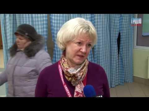 Атташе посольства США в Беларуси посетила избирательные участки в Гродно