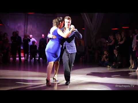 Наталья Молокова и Юрий Штыкин, 4-4, Milonga IDEAL 19.01.2017 (видео)