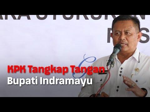 KPK Tangkap Tangan Bupati Indramayu