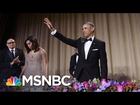Barack Breaks 'Em Up At The White House Correspondents Dinner!
