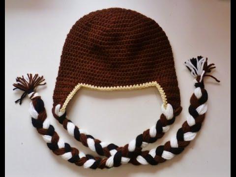 Mütze mit Ohrenklappen - Beanie - häkeln - crochet - Tiermütze - Ohrenmütze Mütze