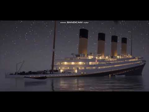 Titanic Sinking Timelapse 5 minutes!