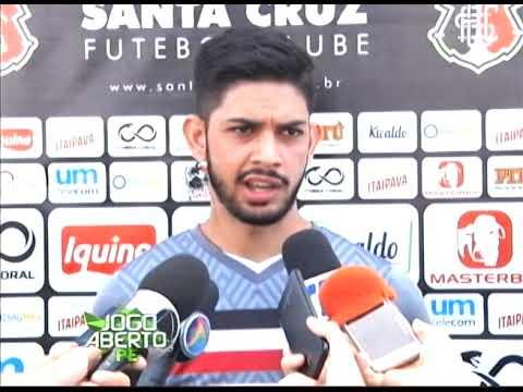 [JOGO ABERTO PE] Recuperado, Héricles espera melhor temporada pelo Santa Cruz em 2019