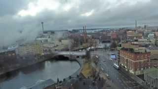 Tampere Finland  city images : City Of Tampere, Finland, Time Lapse