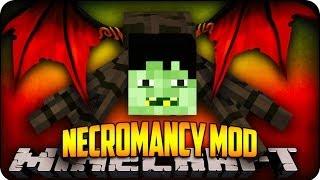 Minecraft Mods - CREATE CREEPY FRANKENSTEIN MOBS! - Necromancy Mod Showcase
