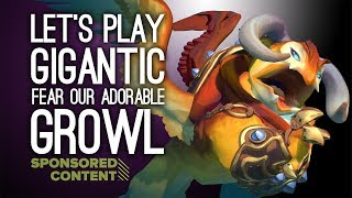 Sponsored content: Gigantic is a free-to-play strategic hero shooter game that features enormous battling creatures, at least one of which is extremely huggable. We may be strategically inept, cowardly butterfingers but we do love giant, adorable creatures. Here's how we got on the Ghost Reef map in the Xbox One version. It's available on Xbox One and PC now, but if you're going to give the PC version a whirl, find on Steam it via this link. Tell 'em we sent you. http://www.gogigantic.com/OutsideXboxThis video is sponsored content brought to you by Outside Xbox and sponsor Gigantic. About sponsored content on Outside Xbox: http://tinyurl.com/zj5h9puFor more info on Gigantic: http://www.gogigantic.comFeaturing a cartoony visual style and a roster full of diverse, fantastical characters each with their own skills and abilities. Your objective is to weaken the enemy team to the point where your guardian, preferably the aforementioned adorable Growl, pins the enemy guardian, opening them up to attack.Gigantic is available now on Xbox One and PC.---Outside Xbox brings you daily videos about videogames, especially Xbox One games and Xbox 360 games. Join us for new gameplay, original videos, previews, lists, Show of the Week and other things (ask us about the other things). Thanks for watching and be excellent to each other in the comments. Find us at http://www.outsidexbox.comSubscribe to us at http://www.youtube.com/outsidexbox Like us on Facebook at http://www.facebook.com/outsidexboxFollow us on Twitter at http://www.twitter.com/outsidexboxPut a t-shirt on your body http://www.outsidexbox.com/tshirts