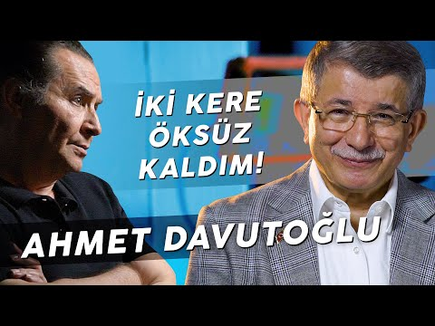 """AHMET DAVUTOĞLU """"KENDİMİ HİÇBİR ZAMAN SAĞCI OLARAK GÖRMEDİM!"""""""