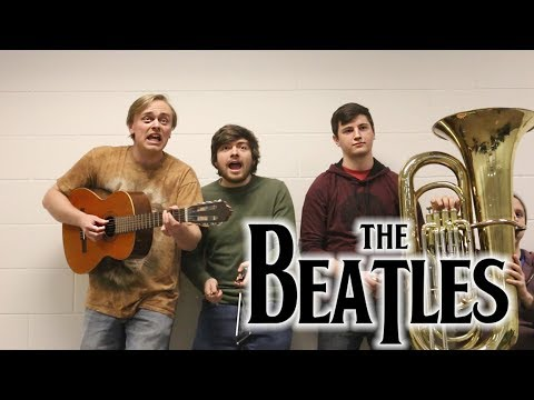 listening to the beatles with only one headphone