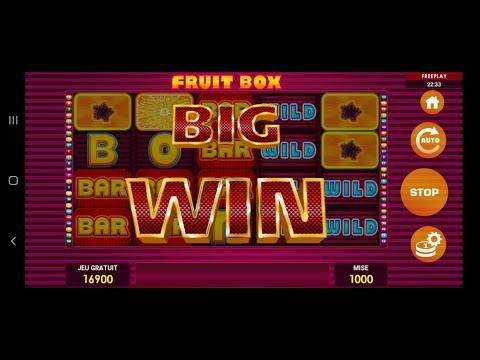FFORZZA CASINO TUNISIE FRUIT BOX BONUS BIG WIN