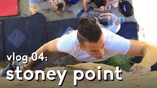 Stoney Point Bouldering: First time climbing boulder 1 | vlog 04 by  rockentry