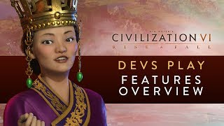 Video Civilization VI: Rise and Fall  - FIRST GAMEPLAY FOOTAGE (Devs Play Korea) MP3, 3GP, MP4, WEBM, AVI, FLV Januari 2018