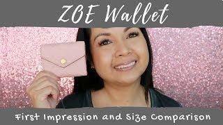 Video Louis Vuitton Zoe Wallet   First Impression   Size Comparison   LalaLV MP3, 3GP, MP4, WEBM, AVI, FLV Juni 2018