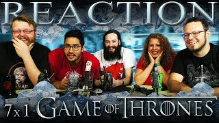 Eric Shane Calvin Melanie and Aaron react to and discuss season 7 episode 1 of Game of Thrones Dragonstone You can watch the full reaction to this episode ...