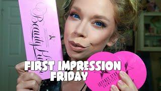 JEFFREE STAR PALETTE & SKIN FROSTS!- FIRST IMPRESSION FRIDAY! by GRAV3YARDGIRL