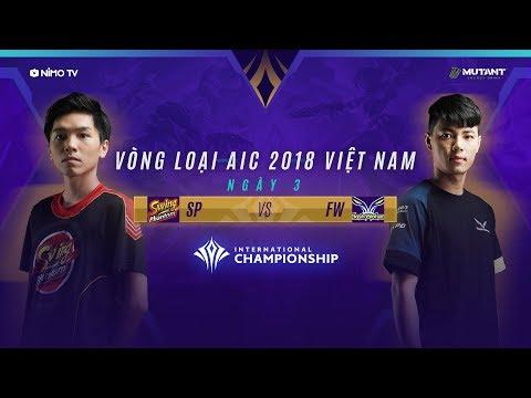 SWING PHANTOM vs FLASH WOLVES - AIC 2018 - Ngày 3 Vòng loại Việt Nam - Thời lượng: 1:09:55.