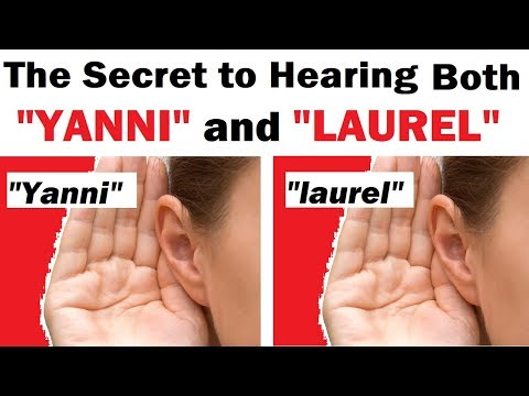 """The Secret to Hearing BOTH """"Yanni"""" and """"Laurel"""""""
