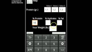 Sports Protein Calculator YouTube video