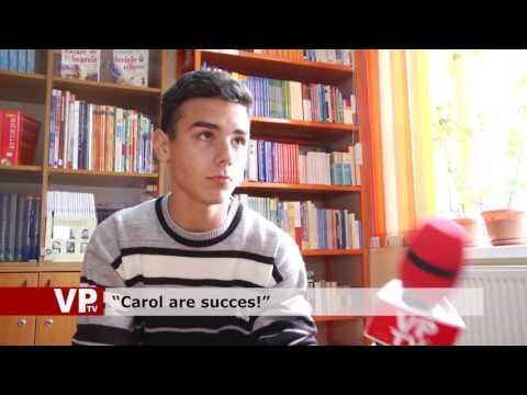 """""""Carol are succes!"""""""