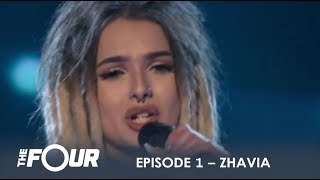 Video Zhavia: She's Only 16 But Wait What Happens When She Opens Her Mouth | S1E1 | The Four MP3, 3GP, MP4, WEBM, AVI, FLV Agustus 2018