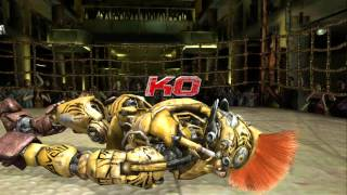 Real Steel The Game: All Fights (Xbox 360) [HD]