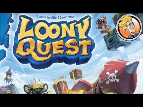 Видео - Луни Квест (Loony Quest)