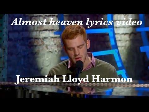 Almost heaven(lyrics video) by Jeremiah Lloyd Harmon 🌈  American Idol Season 2 Auditions 