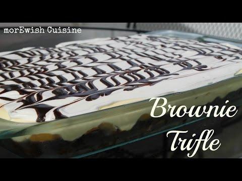 Brownie Trifle | A decadent desert by morewish