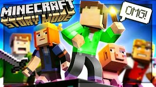 Minecraft Story Mode - AM I IN THIS GAME!? (Episode 1)