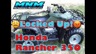 7. Complete Honda Rancher TRX 350 ES 4x4 Engine Tear Down Motor Rebuild Video 1/3