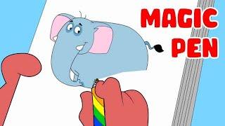 Video Rat-A-Tat | Chotoonz Kids Funny Cartoon Videos | 'Don Magic Pen' MP3, 3GP, MP4, WEBM, AVI, FLV Januari 2019