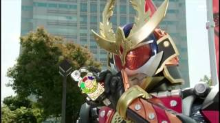 Kamen Rider Gaim Vs. Jungle Monster
