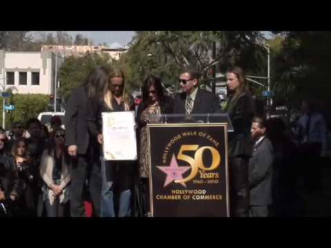 Roy Orbison Walk of Fame Ceremony