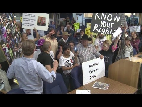 City Council - Angry protesters took over Albuquerque City Council Monday night calling for immediate change at APD and the ousting of both Albuquerque's Police Chief, Mayo...