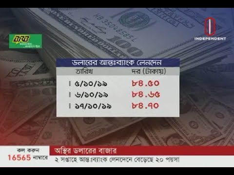 Impacts on dollar price for anti-corruption drive (19-10-2019) Courtesy: Independent TV