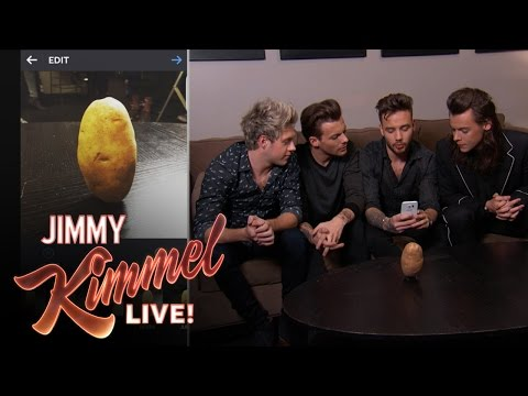 One Direction Makes a Potato Very Famous