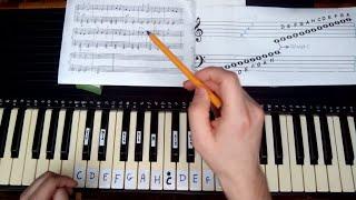 Nauka gry na pianinie, keyboardzie, fortepianie. Lekcje gry na instrumencie klawiszowym. Czytanie nut. Naucz się grać.Inwersje akordówGranie akompaniamentuRozpiska z akordami do druku: http://adf.ly/1mOgbF