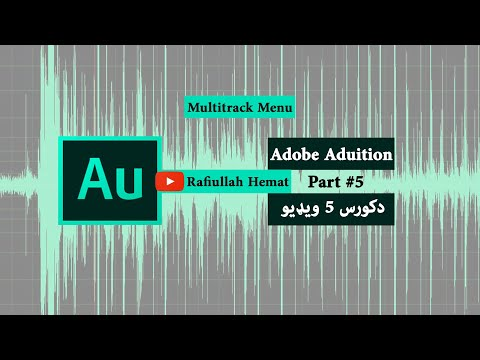 What is Multitrack Menu in Aduition?
