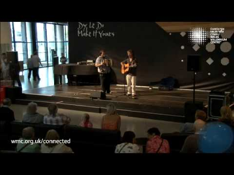 Martin & Aidan (WRB) live in concert at the Wales Millennium Centre.