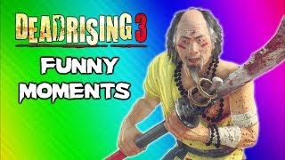 Video Dead Rising 3 Funny Moments Gameplay 7 - Robot Claw, Mini Chainsaw, Zhi Monk Weapon, Epic Dancing! MP3, 3GP, MP4, WEBM, AVI, FLV Juli 2019